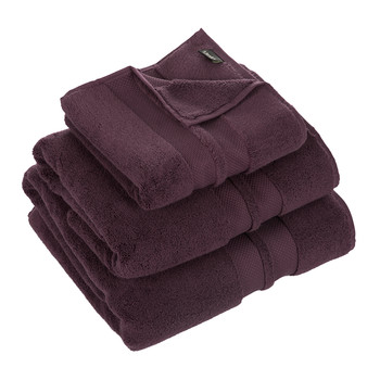 Super Soft Cotton 700gsm Towel - Aubergine
