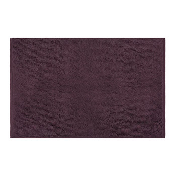 Super Soft Cotton 1650gsm Bath Mat - Aubergine