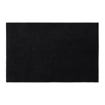 Super Soft Cotton 1650gsm Bath Mat - Black