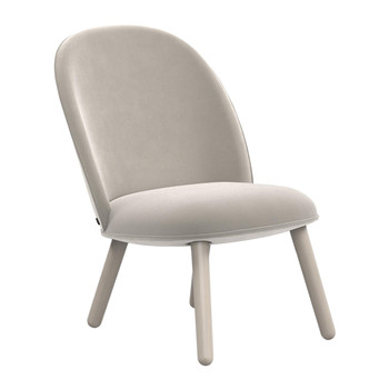 Ace Lounge Chair Velour - Beige