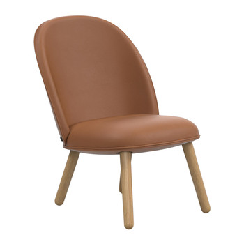 Ace Lounge Chair Tango Leather - Brandy