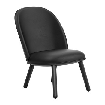 Ace Lounge Chair Tango Leather - Black