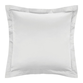 Cotton Sateen 300 Thread Count Pillowcase - Silver - Square