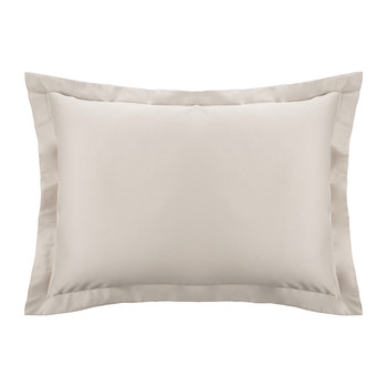 Cotton Sateen 300 Thread Count Pillowcase - Gold - Oxford