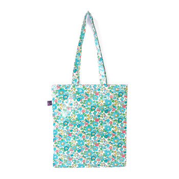 Book Bag - Liberty Betsy Turquoise