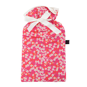Hot Water Bottle - Liberty Mitsi Hot Pink