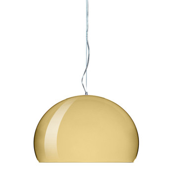 Big FL/Y Ceiling Light - Gold