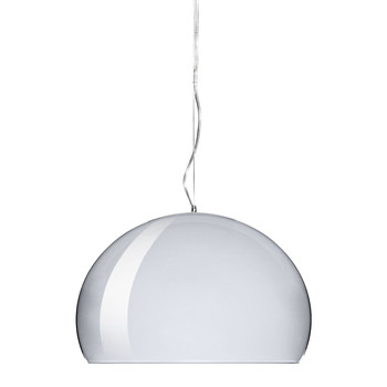 Big FL/Y Ceiling Light - Chrome