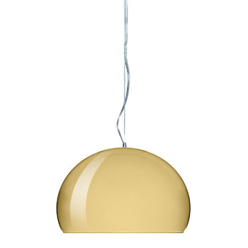 Mini FL/Y Ceiling Light - Gold