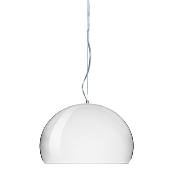 Mini FL/Y Ceiling Light - Chrome