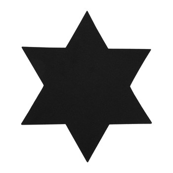 Merino Wool Star Placemat - Black