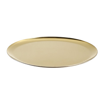 Hexagon Serving Tray - Gold