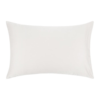 Cotton Sateen 300 Thread Count Pillowcase - Ivory - Housewife