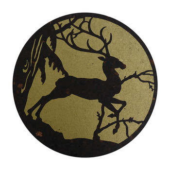 Deer Placemat - Gold