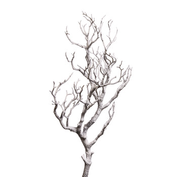 Snow Twig Branch Christmas Ornament