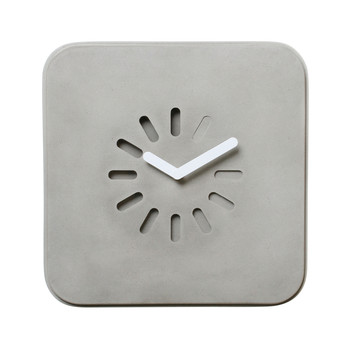Life in Progress Concrete Clock