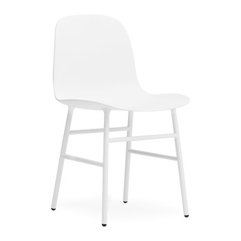 Form Chair - Steel - White