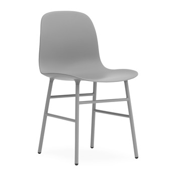 Form Chair - Steel - Grey