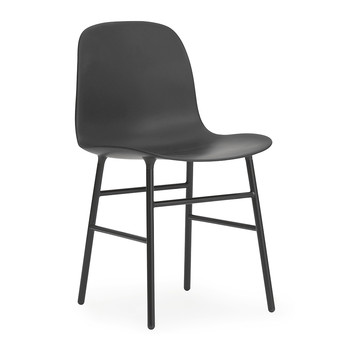 Form Chair - Steel - Black