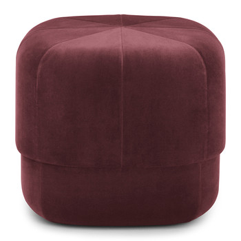 Circus Pouf - Small - Dark Red