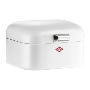 Mini Grandy Bread Bin - White