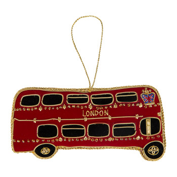 Side of London Bus Christmas Tree Decoration