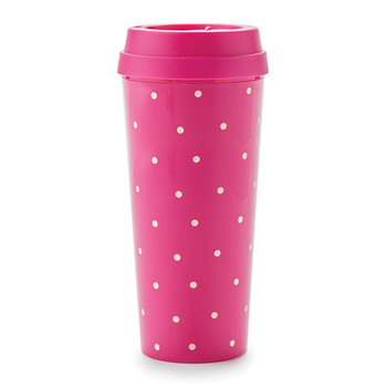 Thermal Mug - Larabee Dot Pink