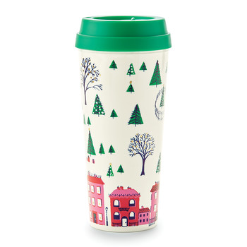 Thermal Mug - Holiday Village