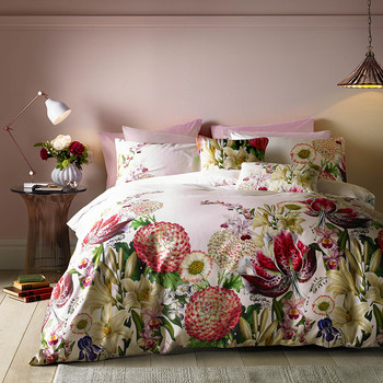 Encyclopedia Floral Duvet Cover