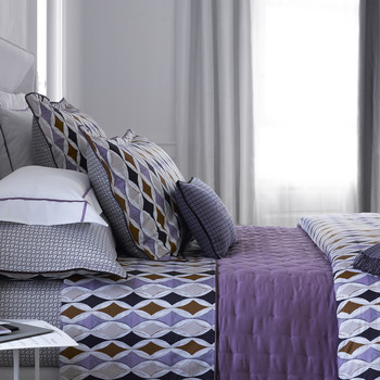 Gabriel Duvet Cover - Purple