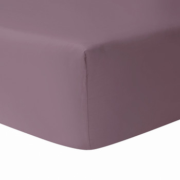 Triomphe Fitted Sheet - Plum