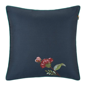 Quilted Cushion - 40x40xcm - Dark Blue