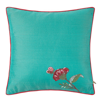 Quilted Pillow - 40x40xcm - Light Blue