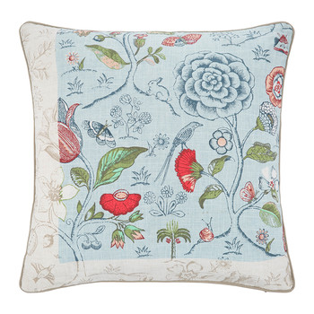 Spring To Life Pillow - 60x60cm - Blue