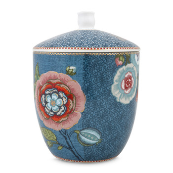 Spring To Life Storage Jar - Blue