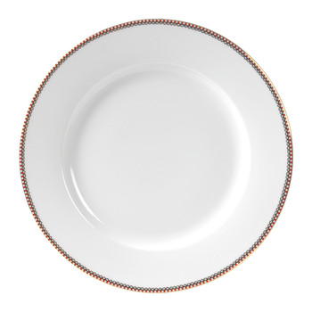 Spring To Life Dinner Plate - White