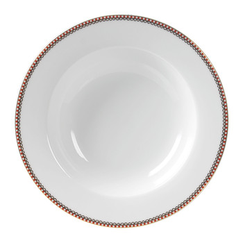 Spring To Life Soup Plate - White