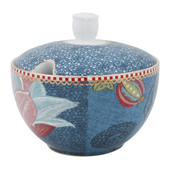 Spring To Life Sugar Bowl - Blue