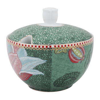 Spring To Life Sugar Bowl - Green