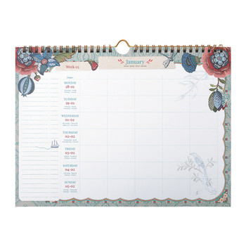 Spring To Life Weekly Planner - A4