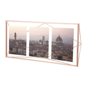Prisma Multi Photo Frame - Copper