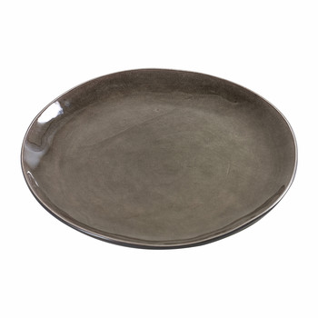 Pure Round Plate - Gray