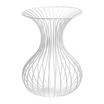 Antonino Rho Vase - White