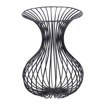 Antonino Rho Vase - Black