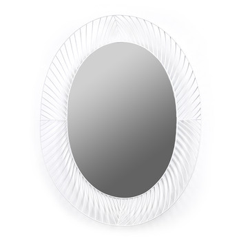 Iron Frame Mirror - Oval