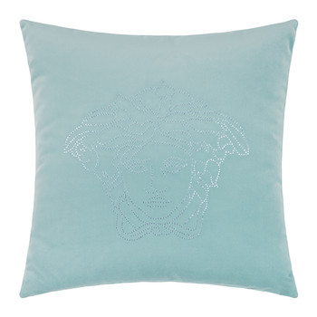 Medusa Studs Cushion - 45x45cm - Light Blue