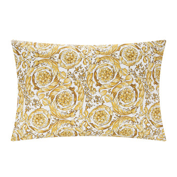 Barocco 14 Pillowcase Pair - White/Gold