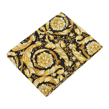 Barocco 14 Flat Sheet - 270x305cm - Black/Gold