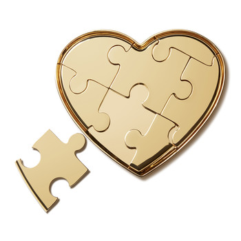 Heart Puzzle Object