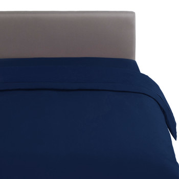 Alcove Quilt Cover - Navy